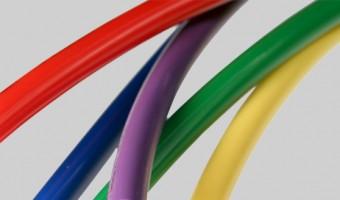 Nyflex black polyethylene tubing